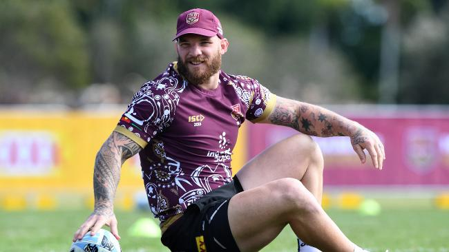 Josh McGuire has been Queensland's best forward. (AAP Image/Dave Hunt)