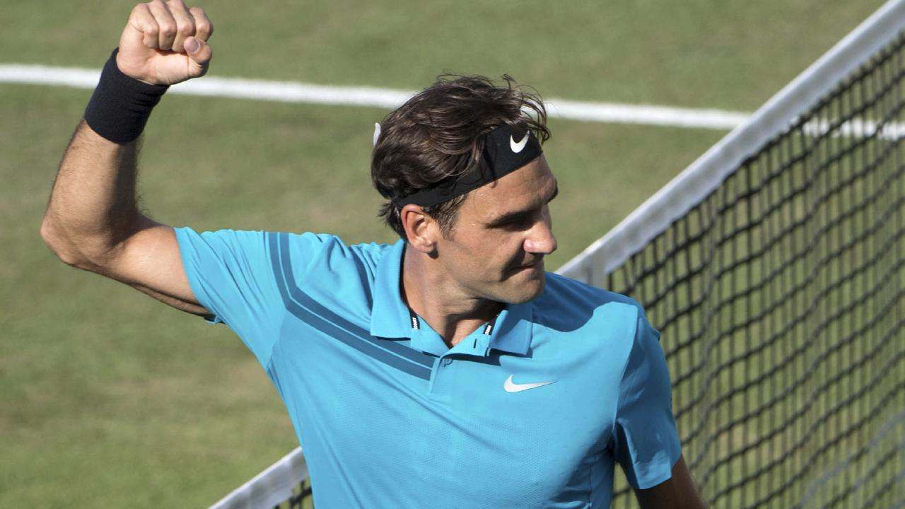 Roger Federer will now play Milos Raonic in the final.