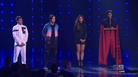 More than one million votes were placed during Sunday night's finale. Picture: Channel 9