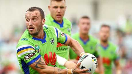 Josh Hodgson will take his place in the starting side for the Raiders. (Photo by Mark Nolan/Getty Images)