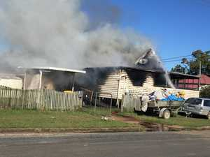 UPDATE: Family home gutted by fire