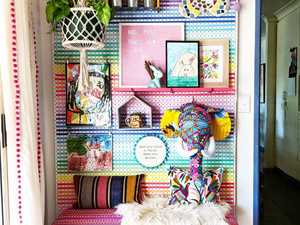 Toowoomba mum's DIY hack to brighten up kids' room