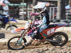 Dundowran Park Motorcross - Taylah McCutcheon in the