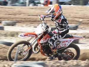 Dundowran Park Motorcross - Riley Wimmer in the