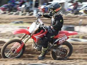 Dundowran Park Motorcross - Lachlan Irwin in the