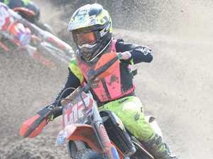 Dundowran Park Motorcross - William Kennedy in the