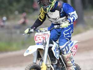 Dundowran Park Motorcross - Jake Thompson in the