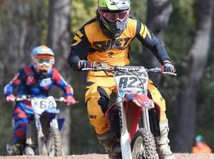 Dundowran Park Motorcross - Nathan Delfs in the