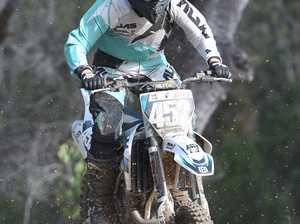 Dundowran Park Motorcross - Brittney Boyce in the