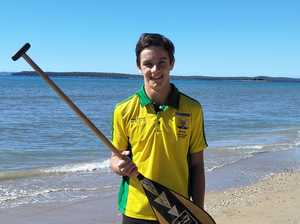 Student set to swap classroom for beach at championships