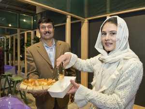 Afghani sweets a treat