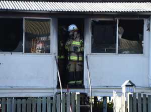 VIDEO: Mum returns home to find house gutted by fire