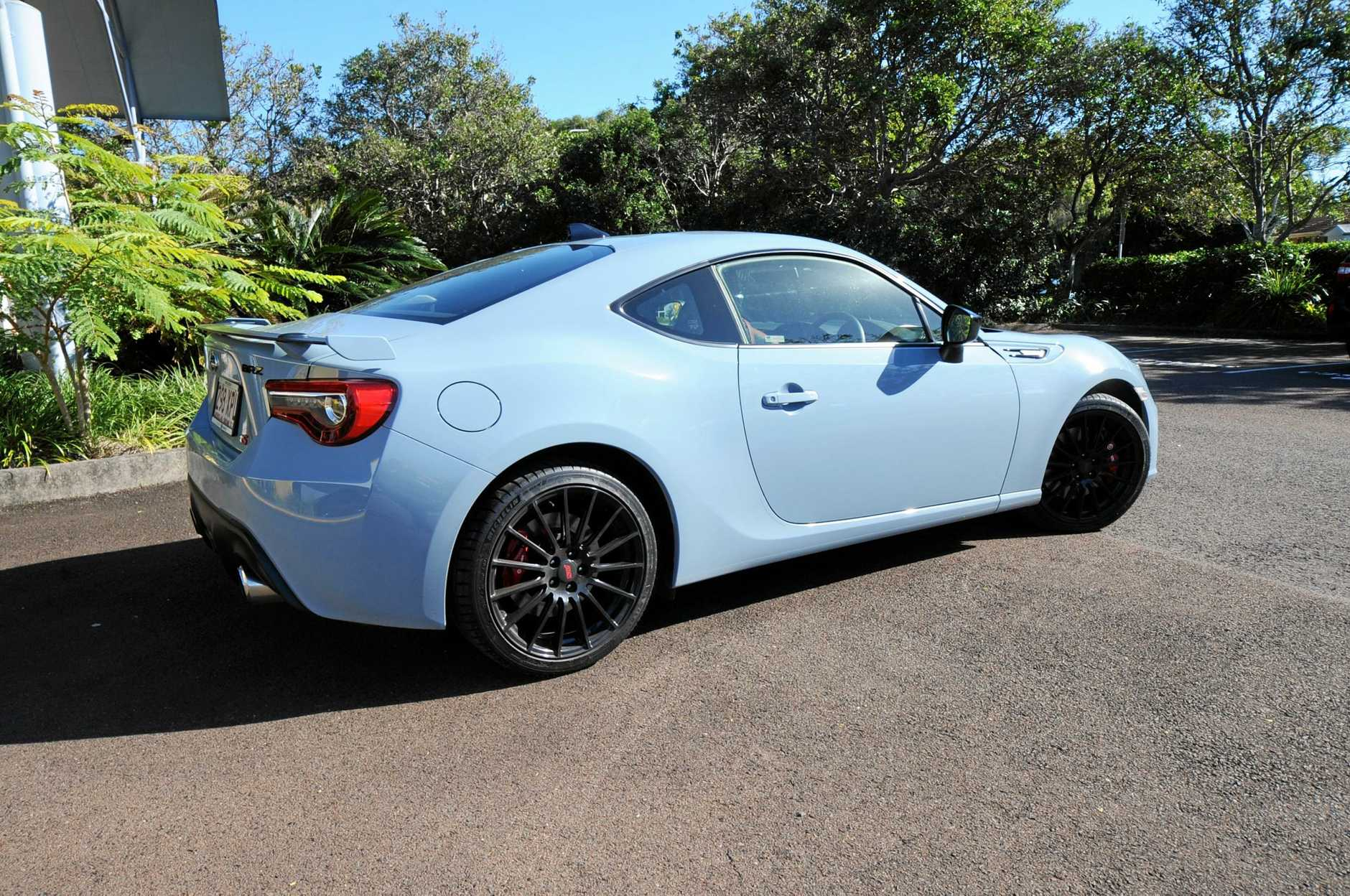 The Subaru BRZ tS offers suspension upgrades and external tweaks.