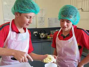 St Joseph's students learn all about the dairy industry