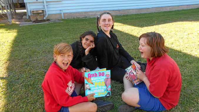 WELL READ: Thulimbah pupils enjoyed this year's book fair.