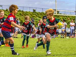 Back to grassroots values in club's rugby training