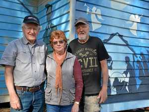Unveiling the church op shop mural to tell a story
