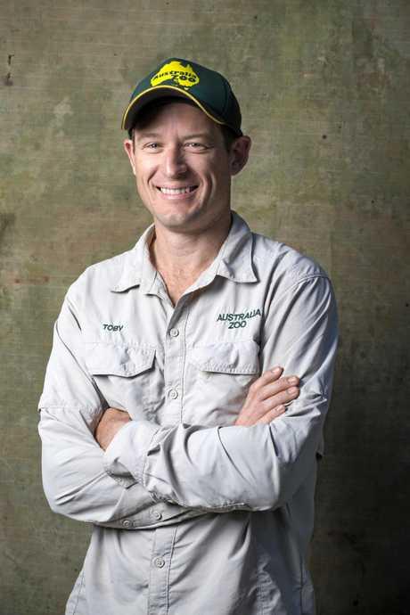 Australia Zoo head of crocodile research Toby Millyard.