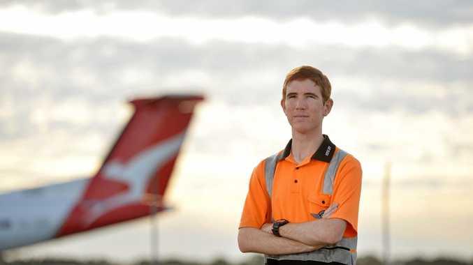 Mackay teen in Qantas pilot academy dream