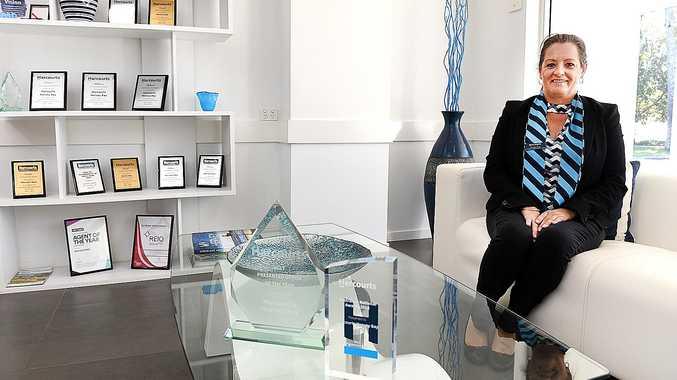 Bay real estate office wins award for presentation
