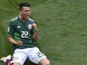 Holders Germany fall to shock Mexico defeat