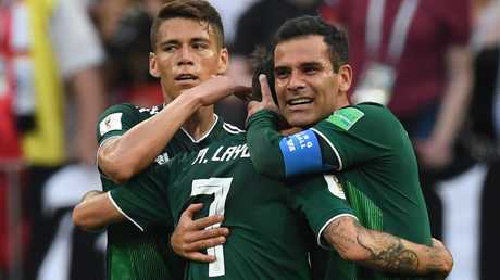 Mexico have turned Group F on its head by upsetting Germany.