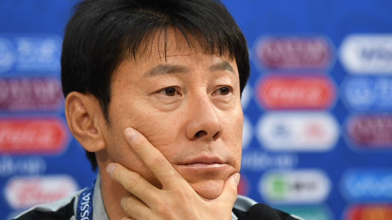 South Korea coach Shin Tae-yong has stoked the fires with his comments.