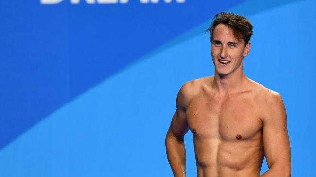 Cameron McEvoy has parted ways with his coach