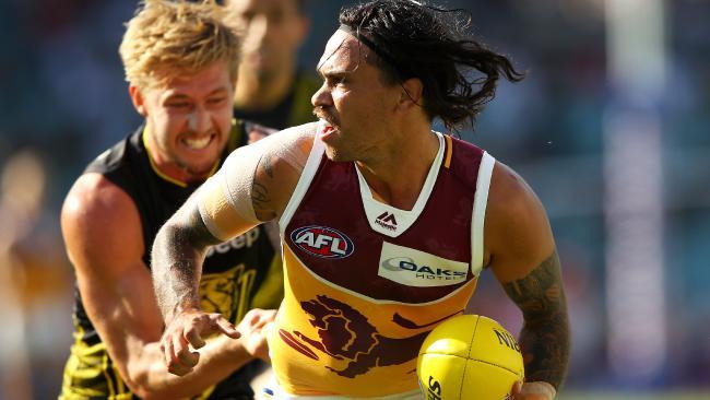 Allen Christensen in action for Brisbane.