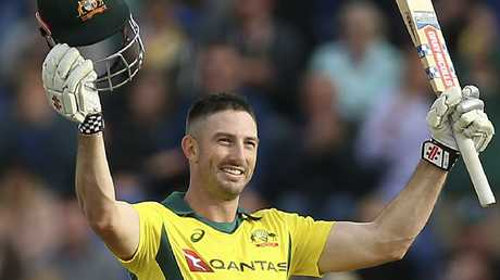 Australia's Shaun Marsh scored a century in the second one-day international.