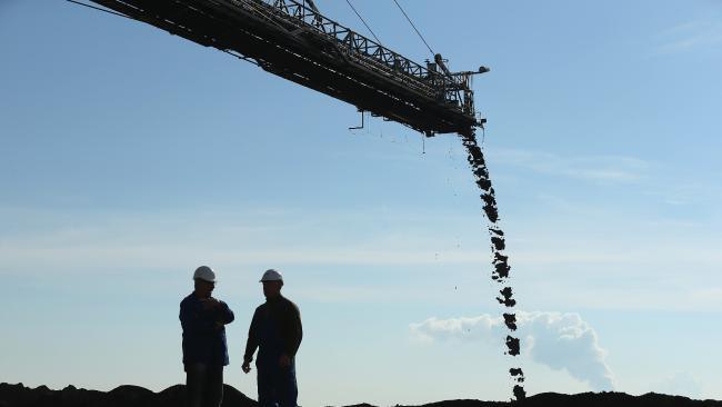 Coal is still a global powerforce. Picture: Sean Gallup/Getty Images