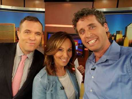 Mr Nagel on Good Day New York. Picture: Facebook