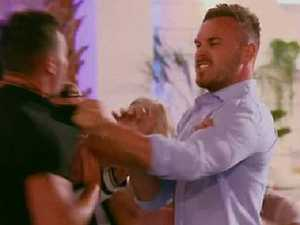 Love Island fight