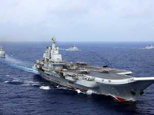 Chinese air craft carrier recalled