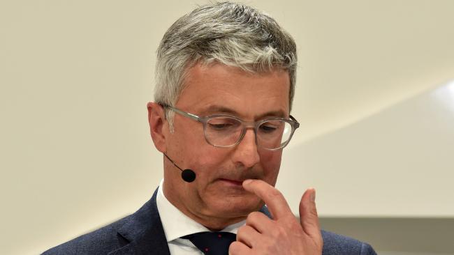 Rupert Stadler, the CEO of Audi, has been arrested. Volkswagen Pleads Guilty in U.S. Emissions Scam