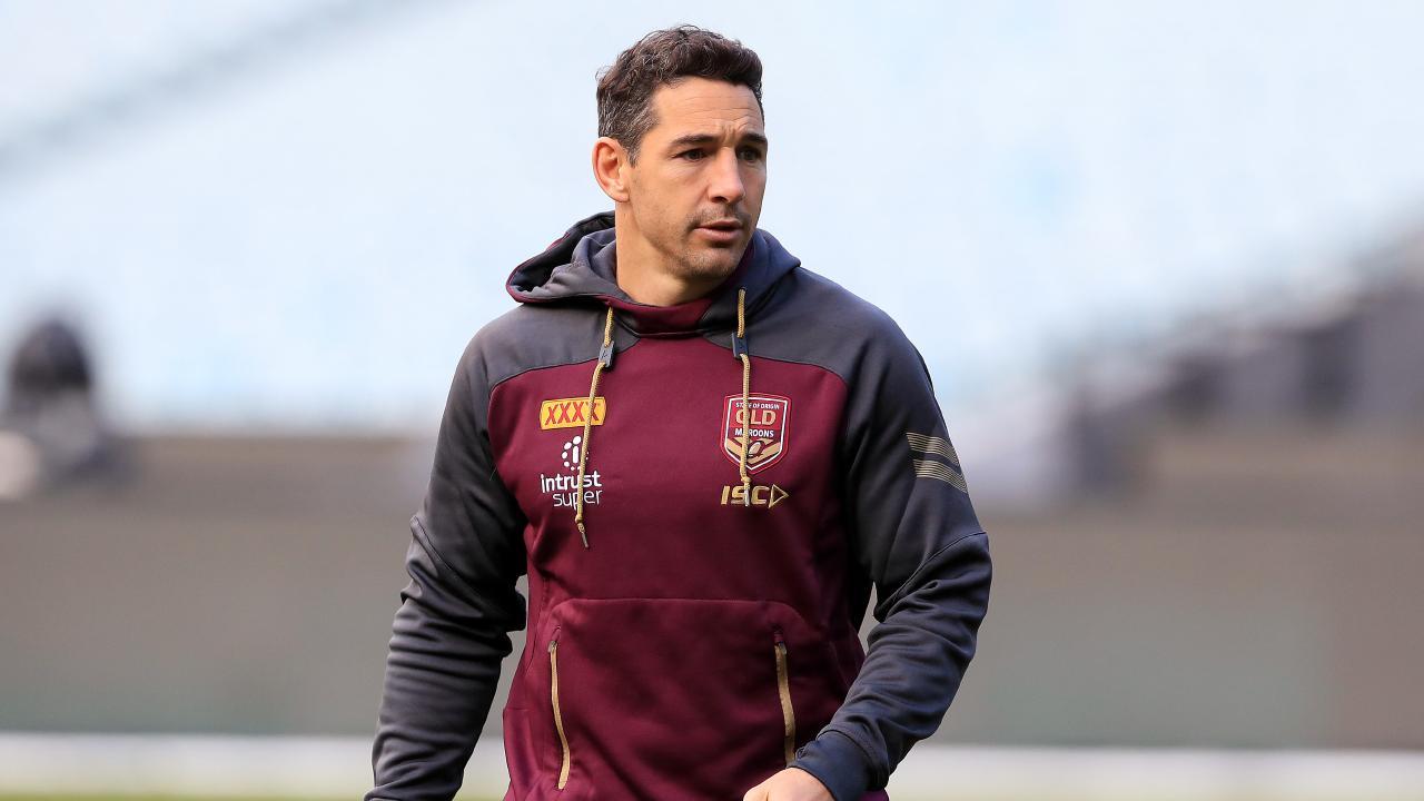 Billy Slater is under pressure to fix Queensland's deficiencies. Pics Adam Head