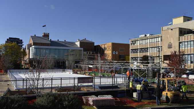 Winter Wonderland: City ice skating rink opens this week