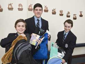 Students pack essentials for international aid