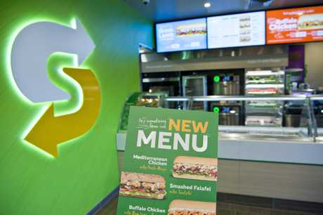 Drive Through Australian First Subway Store Opens In Town
