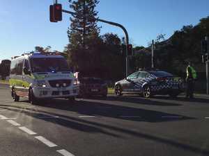 Paramedics at scene of two-car crash in M'boro