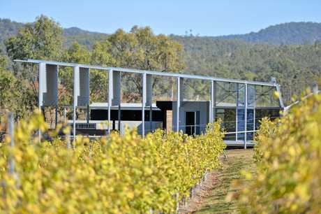 The Overflow Estate 1895 features a new cellar door and more than 2500 vines.