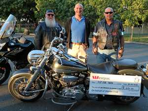 Bike-mad 'Feathers' and 'Waffles' deliver $1650