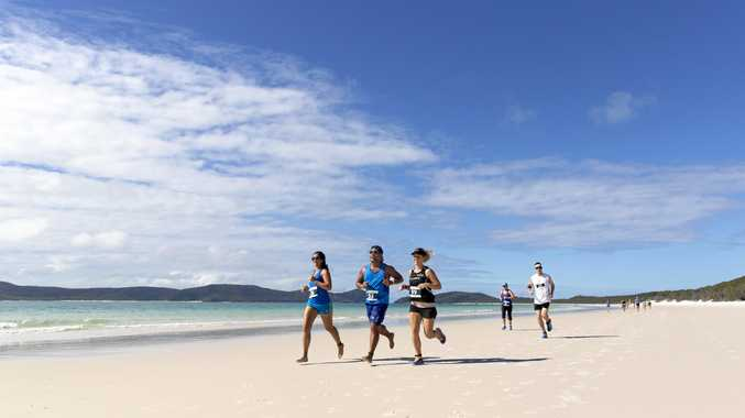 Entries are still open for The Great Whitehaven Beach Run.