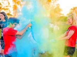 Ninja warriors out in force for Kawana Waters colour event