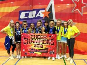Big shout out to Coolum High Cheerleading Academy