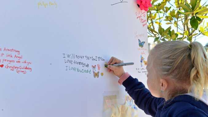 'Heartbroken' community raises $50k for 'princess' Indie's family