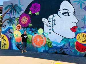 Trail map unlocks town history in mural