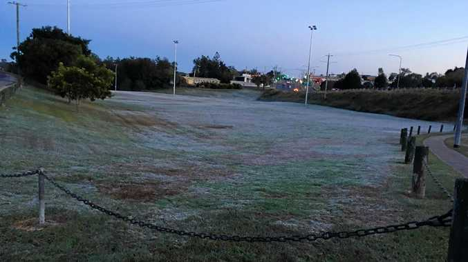 Frosty start serves Gympie's coldest day of the year