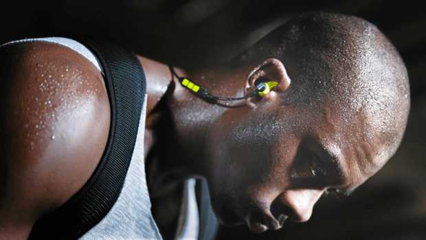 NICE FIT: Sennheiser's CX SPORT In-Ear wireless headphones offer both great sound and comfort.