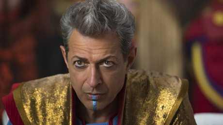 Goldblum as The Grandmaster in Thor: Ragnarok. Photo: Jasin Boland.